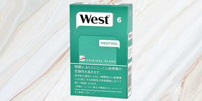 紙巻きタバコ「ウエスト」の廃盤銘柄の値段④:ウエスト メンソール