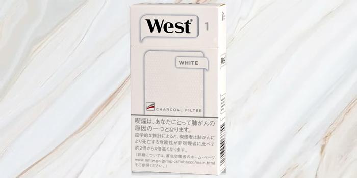 紙巻きタバコ「ウエスト」の値段⑥:ウエスト ホワイト 100