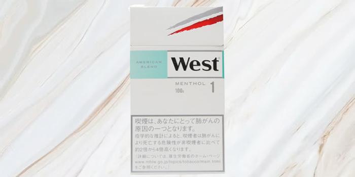 紙巻きタバコ「ウエスト」の廃盤銘柄の値段⑤:ウエスト ホワイトメンソール100