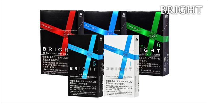 【全9種】外国産紙巻きタバコ「ブライト」の味・値段を解説