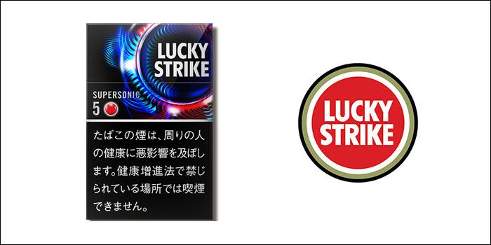 ラッキーストライク・ブラックシリーズ・スーパーソニック・5