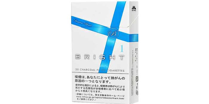 現在販売中の紙巻きタバコ「ブライト」の味・値段をご紹介:ブライト1