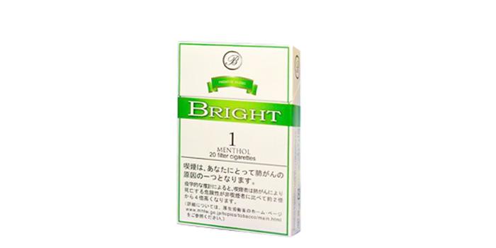 現在販売中の紙巻きタバコ「ブライト」の味・値段をご紹介:ブライト1メンソール