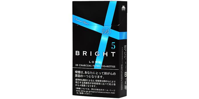 現在販売中の紙巻きタバコ「ブライト」の味・値段をご紹介:ブライト5ロング