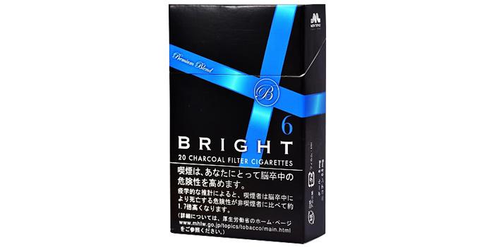 現在販売中の紙巻きタバコ「ブライト」の味・値段をご紹介:ブライト 6