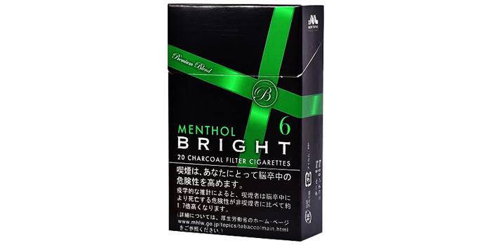 現在販売中の紙巻きタバコ「ブライト」の味・値段をご紹介:ブライト6メンソール
