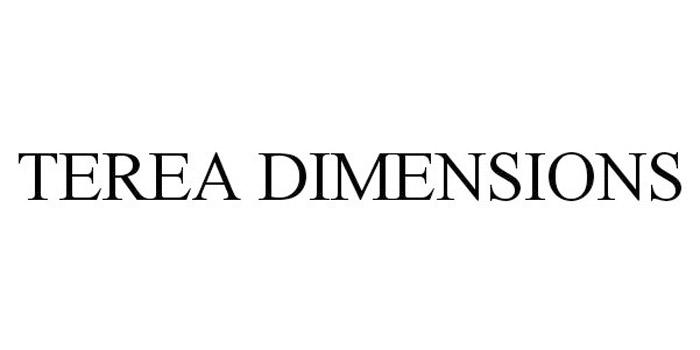 海外では「テリアディメンションズ」という商標が登録されている