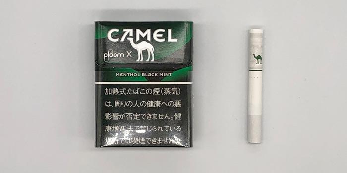 最新型プルームエックスのタバコスティックの値段を解説⑧:キャメル メンソール ブラックミント