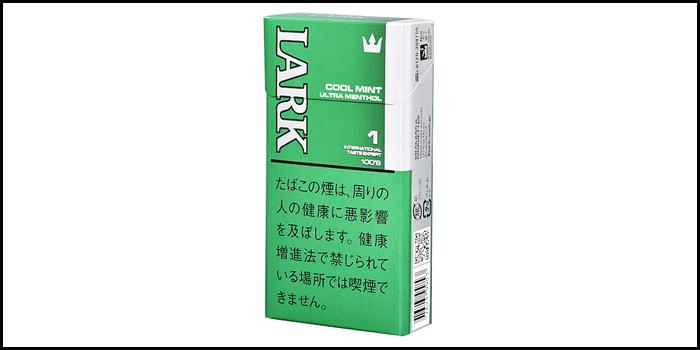 長いロングサイズタバコ銘柄:ラークウルトラメンソール100'sボックス