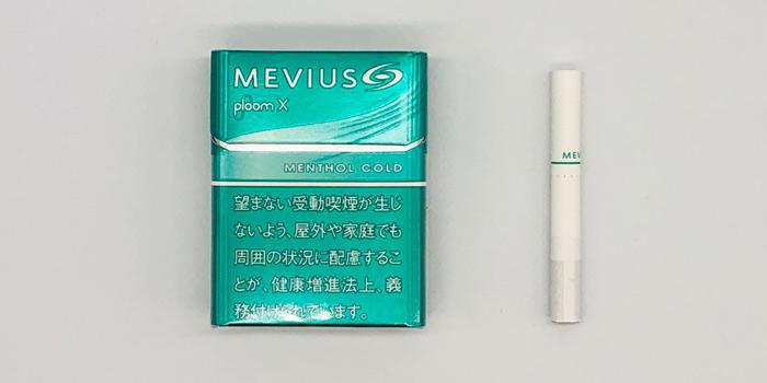 最新型プルームエックスのタバコスティックの値段を解説⑥:メビウス メンソール コールド