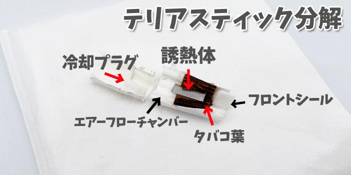 最新型アイコスイルマシリーズ専用テリアスティックの構造 分解