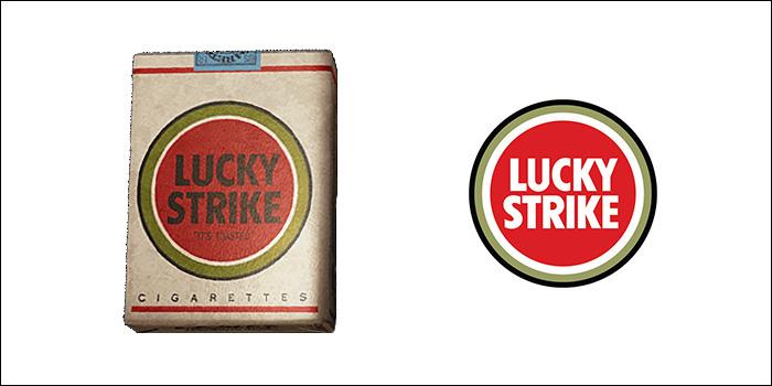 ラッキーストライクの廃盤銘柄 ラッキーストライク