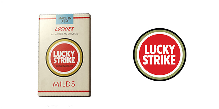 ラッキーストライクの廃盤銘柄 ラッキーストライク・マイルド・FK