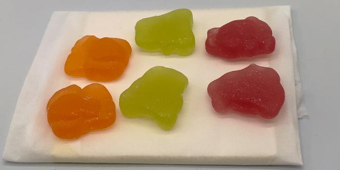 Greeus(グリース)のおすすめCBD:CBD Gummiesグミ Day & Night 6粒の詳細
